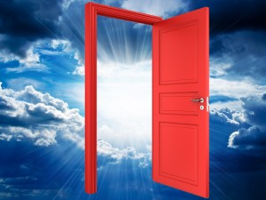 open the red door