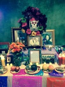 Muertos 2015 altar
